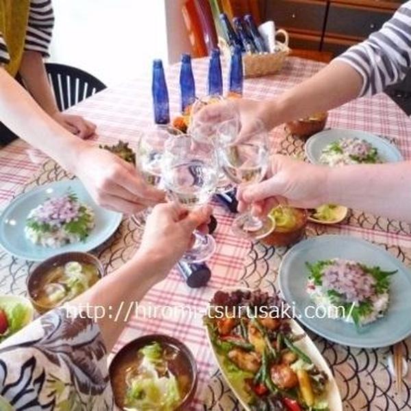 6月料理教室は「和モダンな元気ご飯」、『澪』で乾杯♪