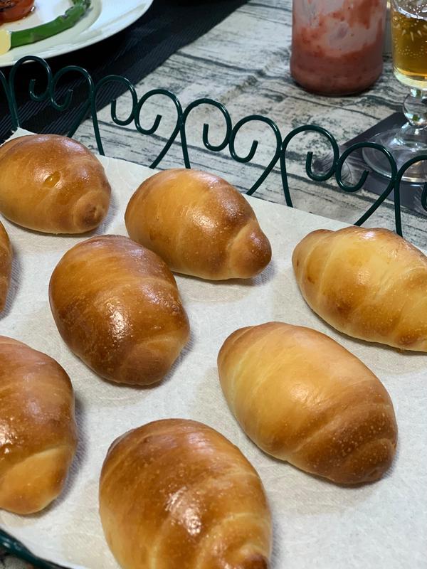 ホシノでバターロールパン