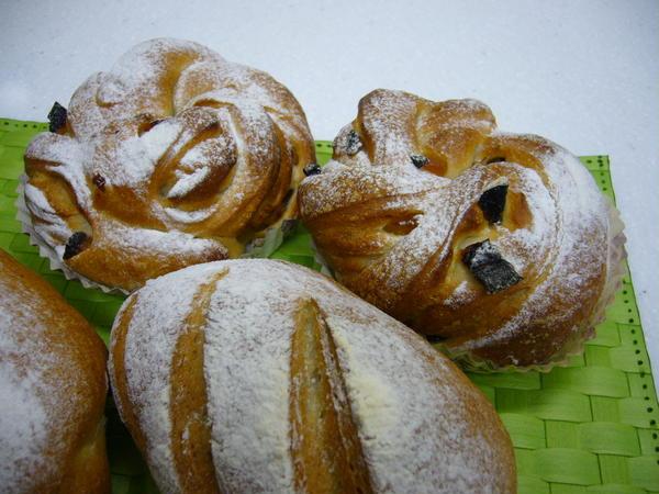 バラの花酵母でパン