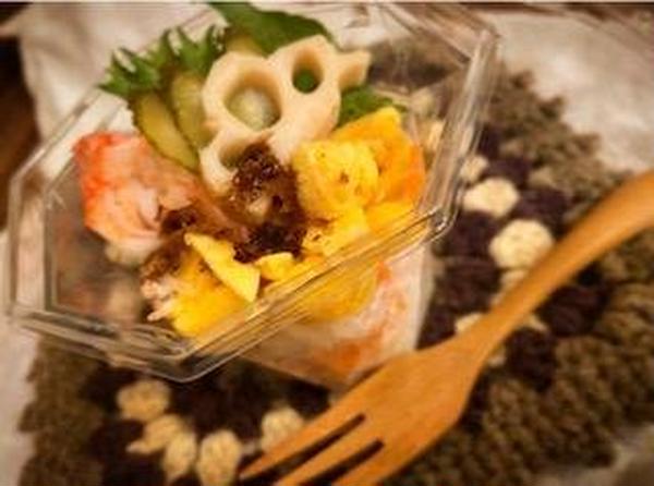2月ベーキングクラス【カップちらし寿司】