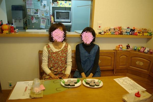 2012年11月28日。お試しコース「お花」生徒さん作品