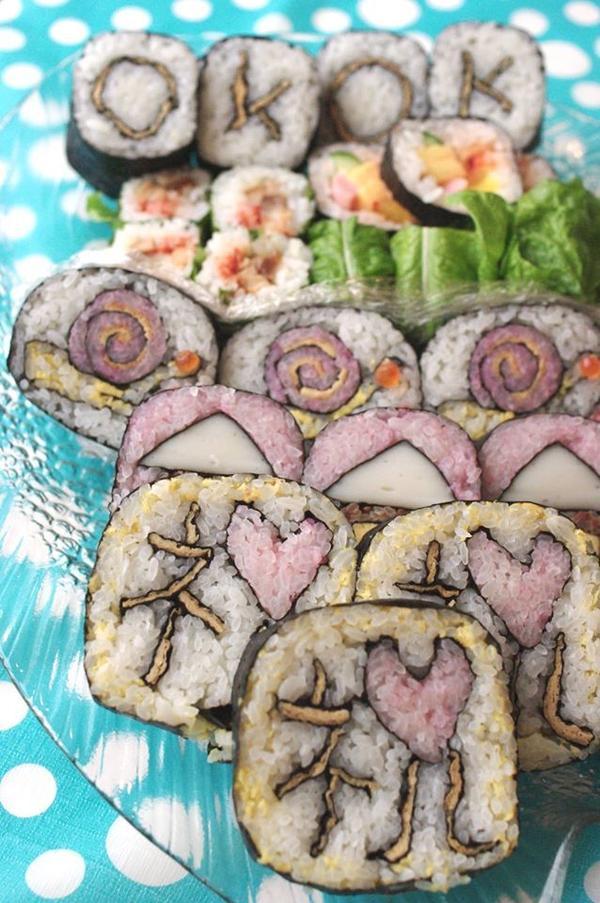 おめでとうの気持ちを巻き寿司こめて♡
