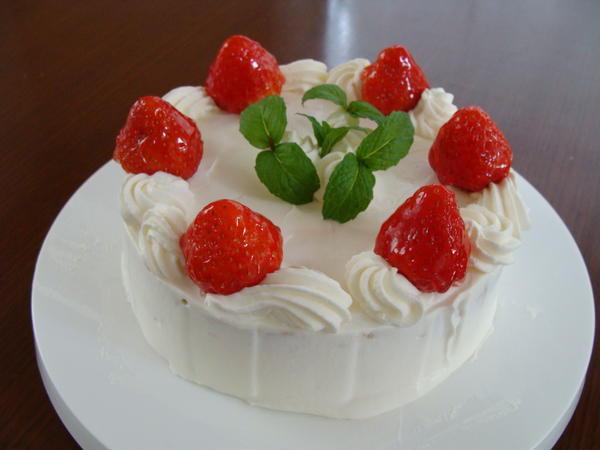 ケーキレッスンはデコレーションケーキでスタート♪