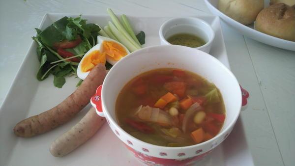 アンチエイジングスープ。 女性に嬉しい効果がいっぱいです。