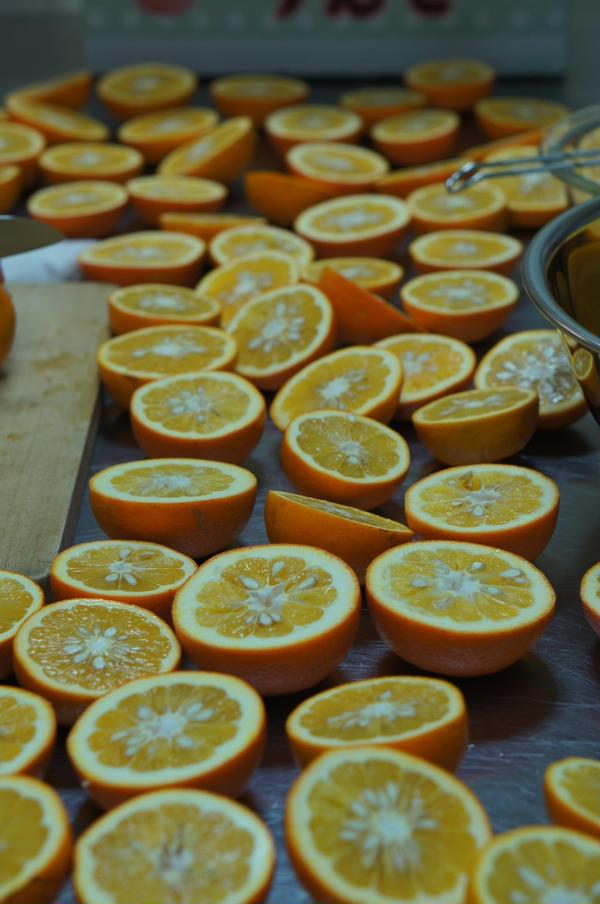 橙ポン酢づくり@季節の手仕事