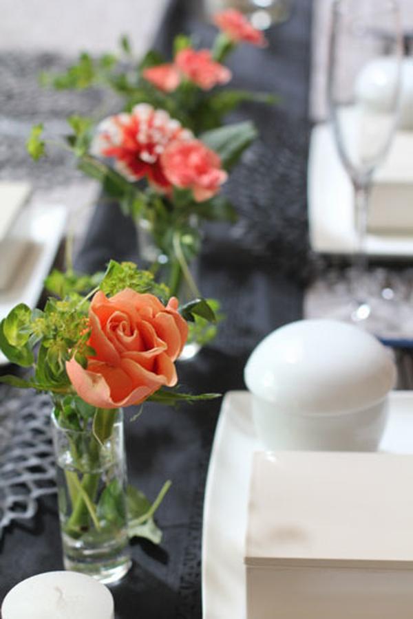秋のテーブル