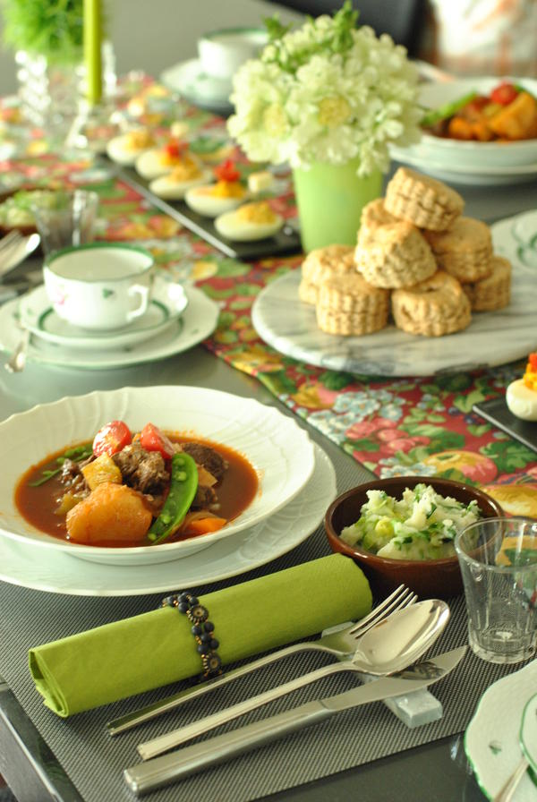 アイルランド料理の会。ギネスシチューがメイン