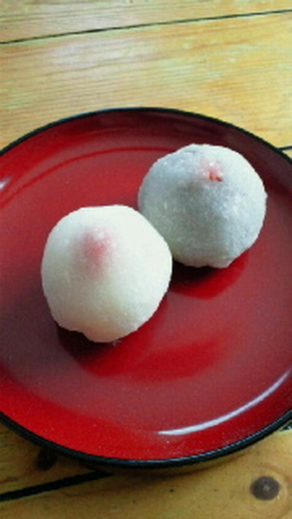 4月5月の米粉菓子コースの苺大福