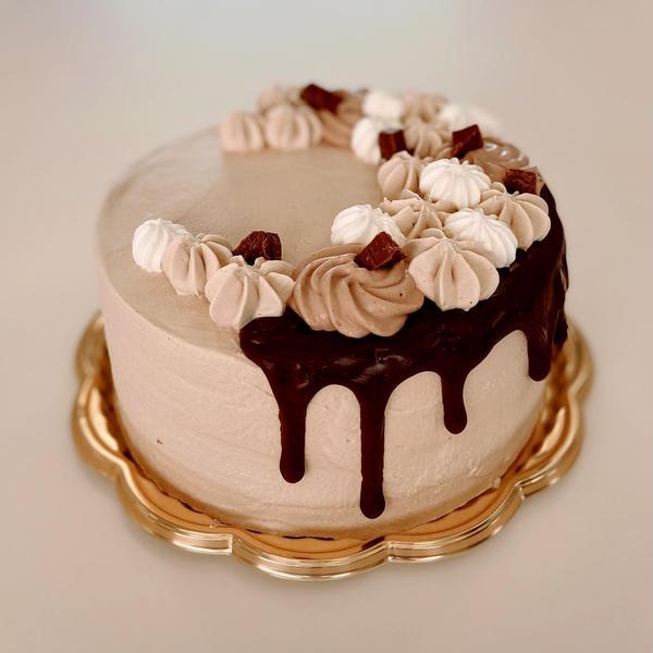 コーヒークリームデコレーションケーキ♪通称たらりんケーキ笑