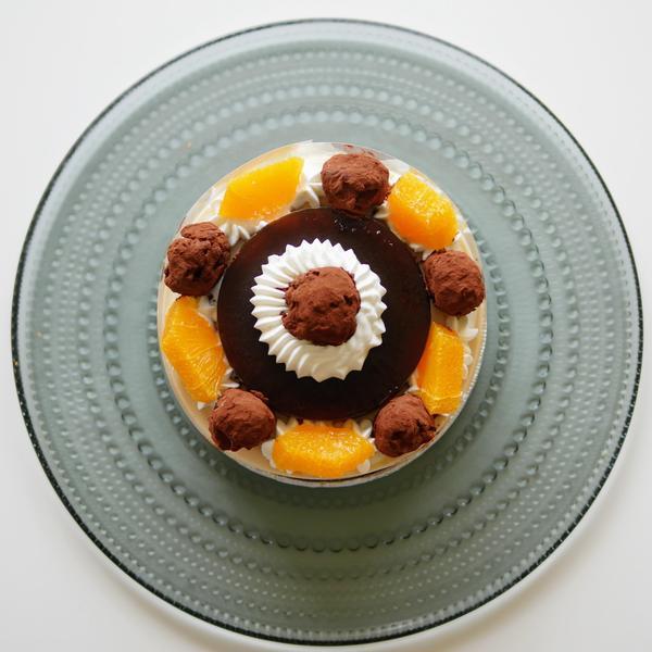 コーヒーキャラメルチーズケーキ♪