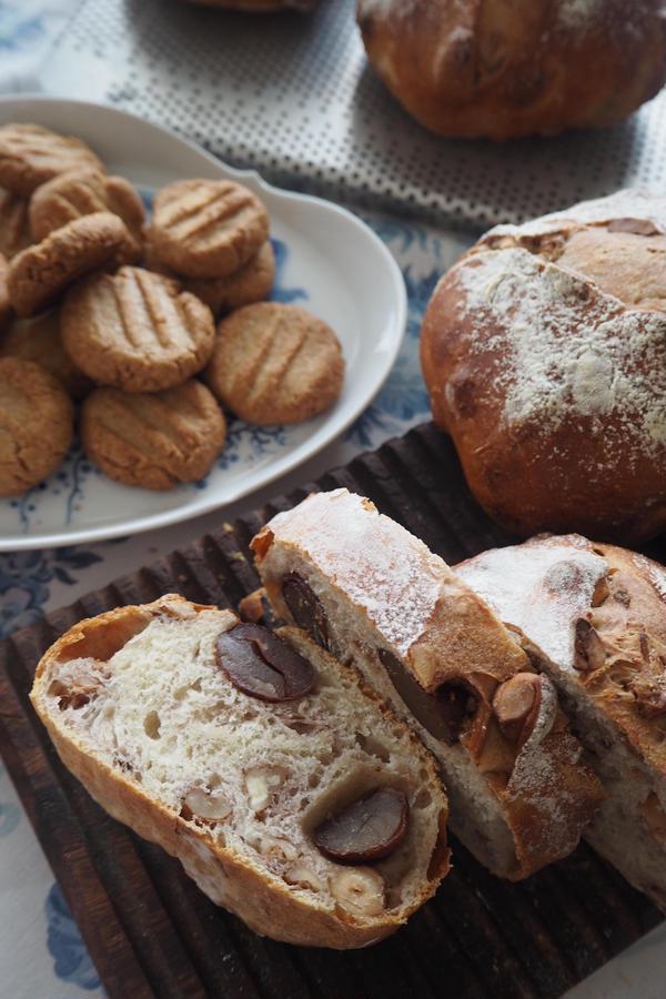 専科クラス 栗とナッツのスペルトパン スペルト小麦クッキー