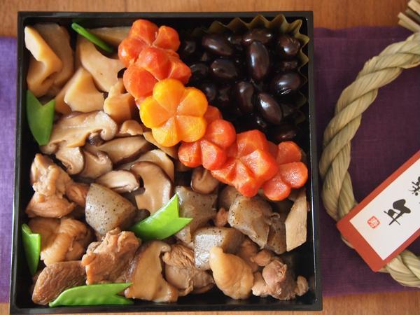 しわのない黒豆、煮物も気軽に作ってみましょ。