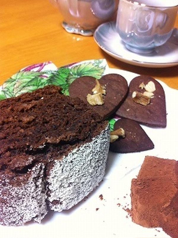 好評いただいたバレンタインのチョコレートスイーツの会