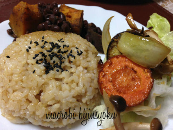 気軽に玄米&野菜を楽しむ会では、超簡単やさい料理を