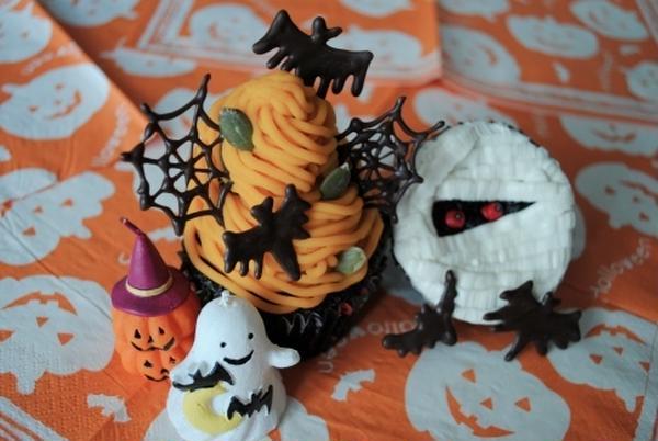 10月のメニュー【ハロウィンカップケーキ】
