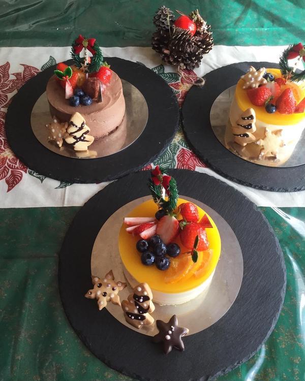 2019年クリスマスケーキレッスン