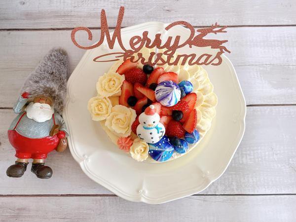 2019 年クリスマスデコレーションケーキです