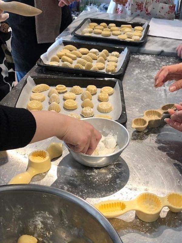 モロッコ伝統菓子作り