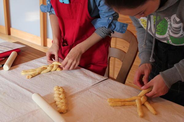 パン ベーシックコース ツオップ(編みパン)練習