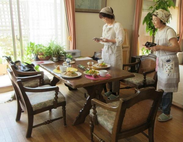 ガレットレッスン:食べたいけどまずは写真!!