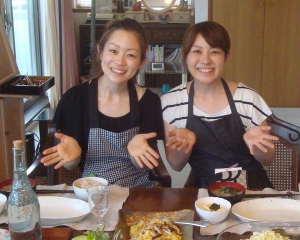 雑穀レッスン:ご姉妹で仲良く。終始楽しそうでいいな!!