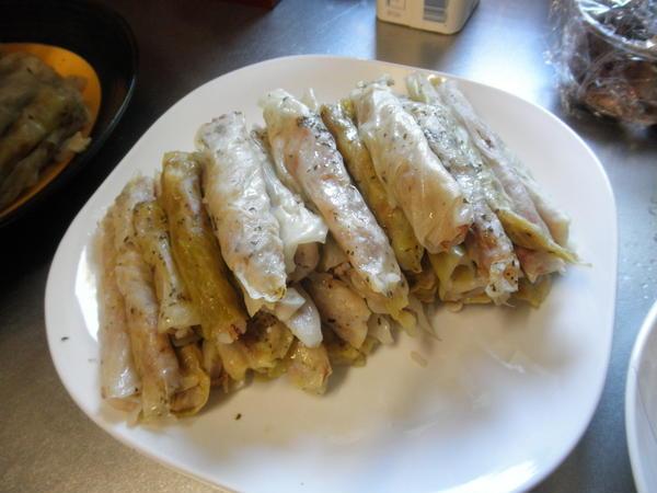 2011年9月 地中海風お米と牛ひき肉のキャベツ葉包み