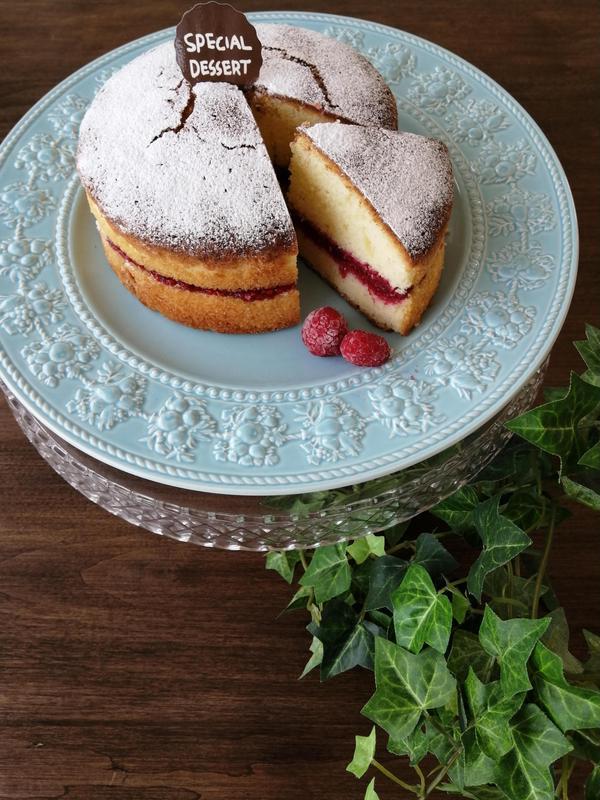 基本の英国菓子ヴィクトリアケーキ