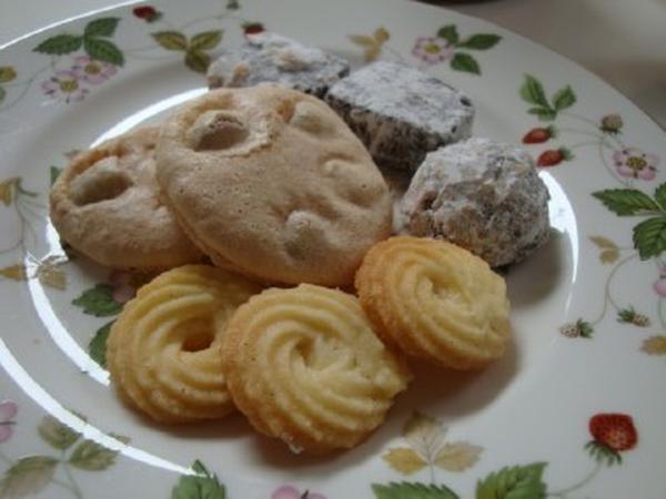 クロッカン、シュトラスブルガー、カカオクッキー