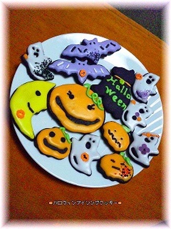 アイシング・クッキーもイベントやテーマにあわせて☆☆☆