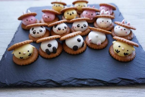 JSAデコメレンゲクッキー