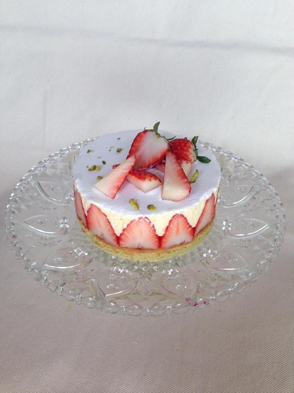 イチゴの季節には作りたいフレジエ