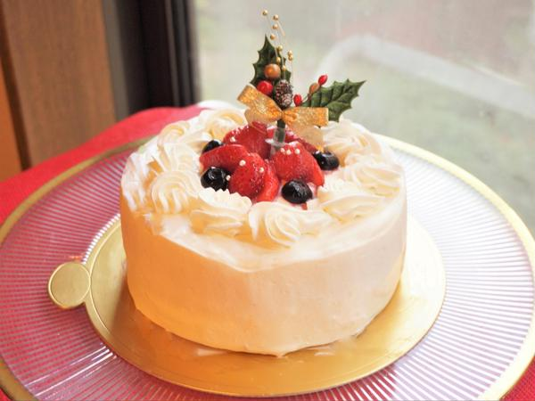 12月 糖質88%オフ!「クリスマスデコレーションケーキ」