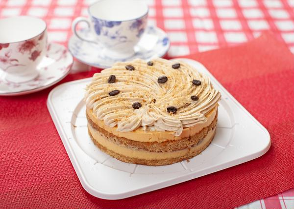 洗双糖で作るモカ(コーヒーのケーキ)
