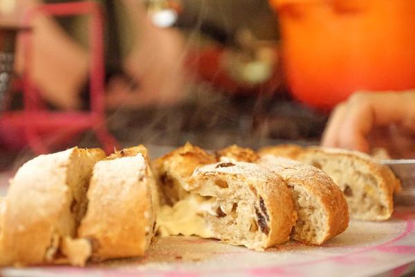 焼きたてのパンはいい香りです!