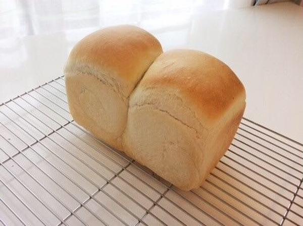 4日目でも柔らかい中級の食パン