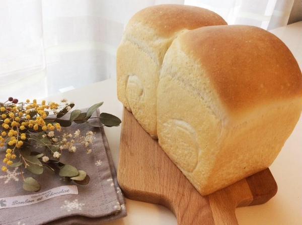 ホシノ酵母レッスンの食パン
