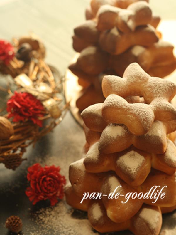 クリスマスパン ツリーパン