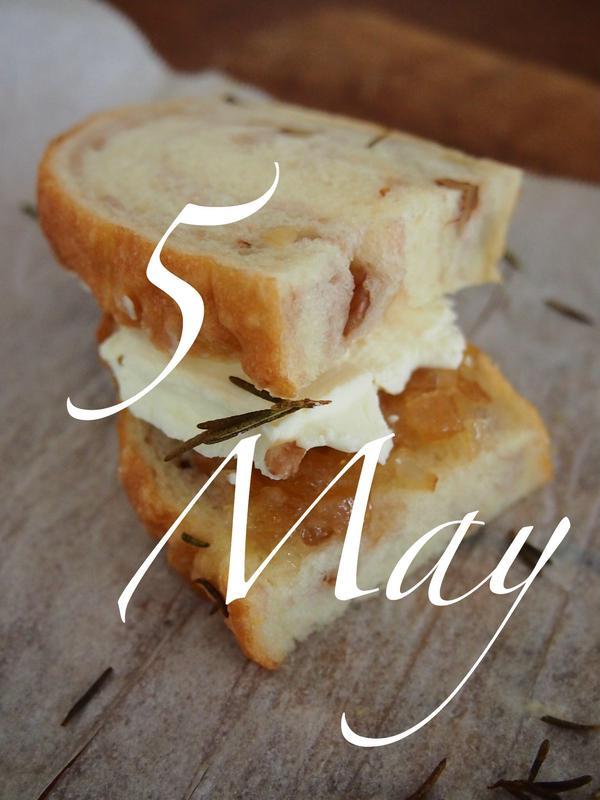 5月は難しくない 手抜きパン 生活の中のパンがテーマ!