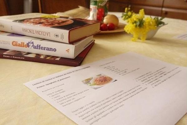 イタリア語料理教室始めました!