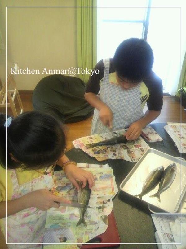親子料理教室♪小学5年生がお魚料理に挑戦しました!