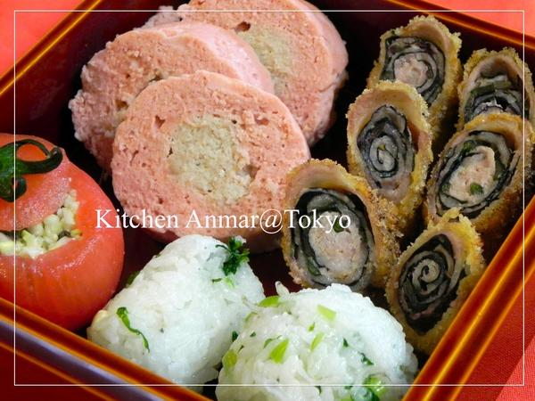 2012年4月のクラス「沖縄の清明祭のお弁当」