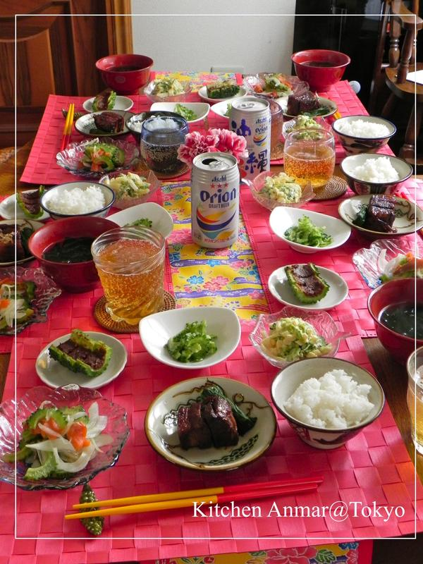 2012年5月20日の試食テーブル風景です。