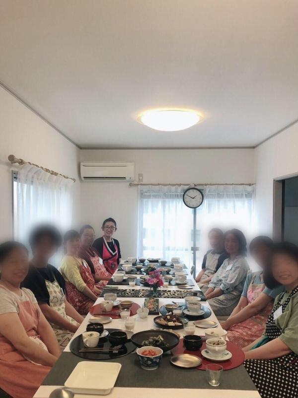 2019年5期生の初の料理教室!