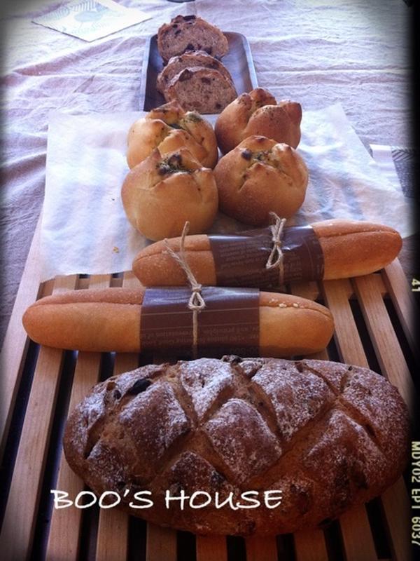 5月季節のパンレッスン