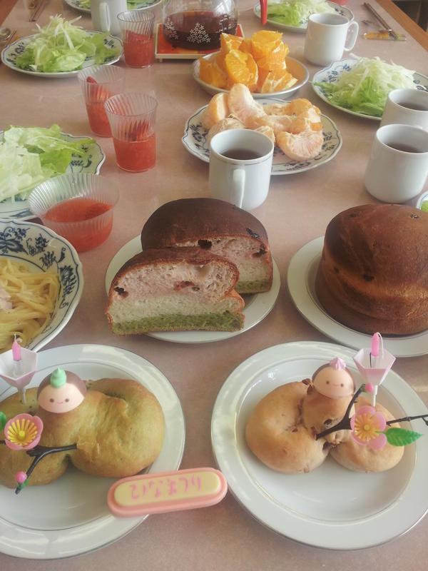 Kayopanひな祭りパン教室
