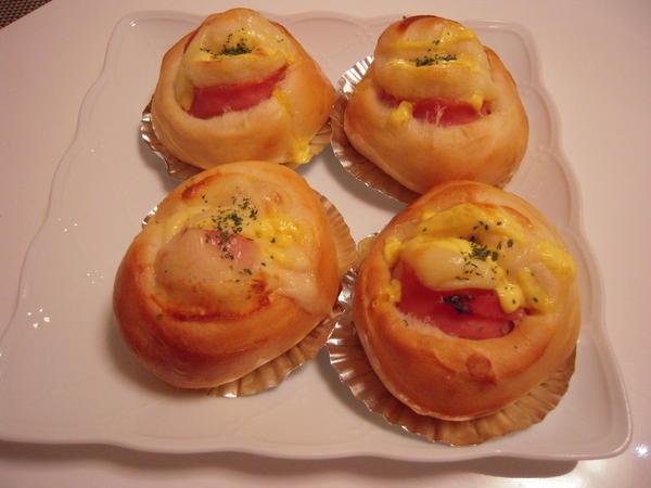 ご家庭で焼きたての惣菜パンを楽しめます! ハムマヨパン