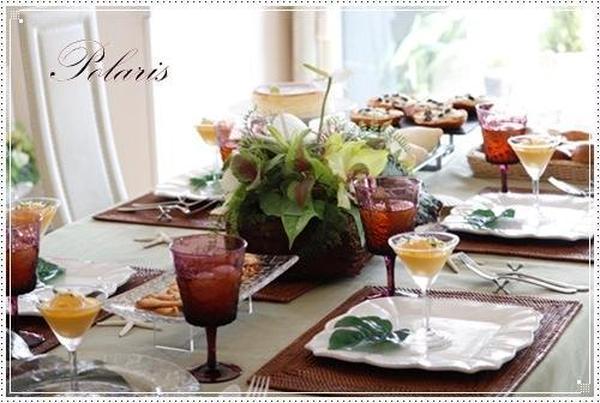 季節のテーブルにて試食