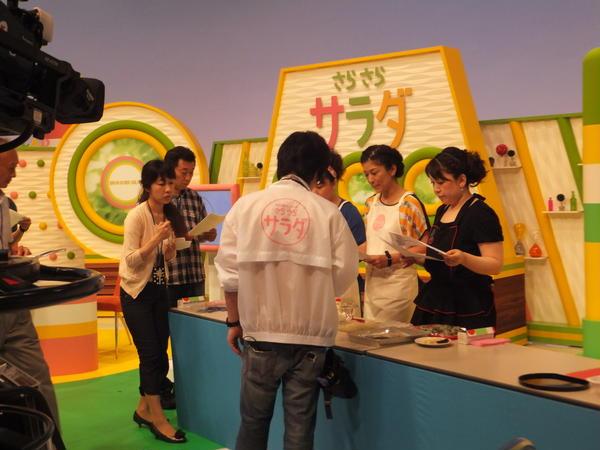 NHK生放送番組「さらさらサラダ」では作り方を伝授