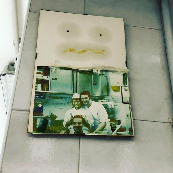 15年前のイタリアでのパティスリー修業時代の写真