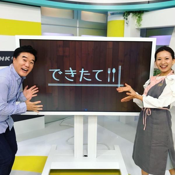 NHK スイーツコーナー講師担当させて頂きました🍰💕
